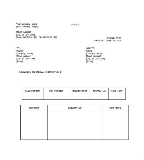 tax invoice templates docs   premium