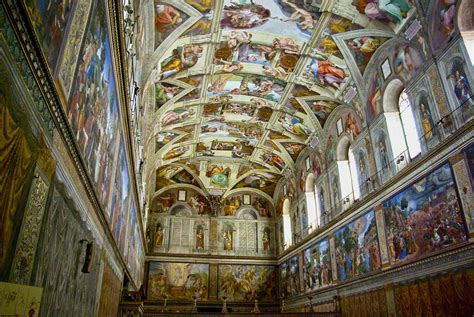 Painted The Ceiling Of The Sistine Chapel In Rome visiting the sistine chapel