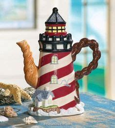 lighthouse teapot - Google Search   Tea pots, Novelty ...