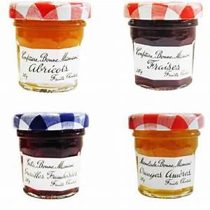 Petit Pot De Confiture : confiture portions bonne maman pot verre parfums assortis ~ Farleysfitness.com Idées de Décoration