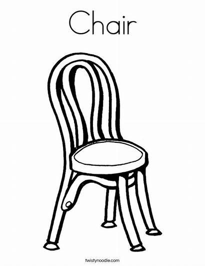 Chair Coloring Built California Usa
