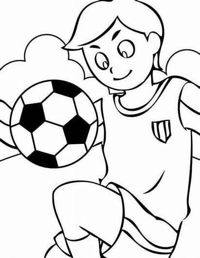 Football Coloring Pages English Printable Soccer