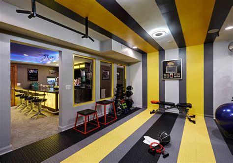 Gym Interior : 47 Extraordinary Home Gym Design Ideas