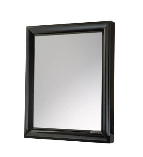 Badezimmer Spiegelschrank Schwarz by Nilkamal Gem Mirror Cabinet Black By Nilkamal