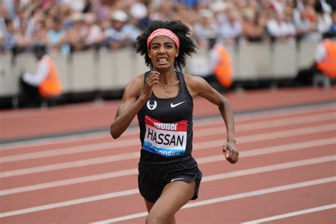 Sifan hassan of the netherlands won an unprecedented double at the world championships on saturday, october 5, taking home a second gold medal in the 1500 meters after winning the 10,000. Hassan & Korir race to World Leads & Meeting Records at London Diamond League   MAKING OF CHAMPIONS