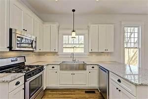 white shaker cabinet kitchen DeducTour com