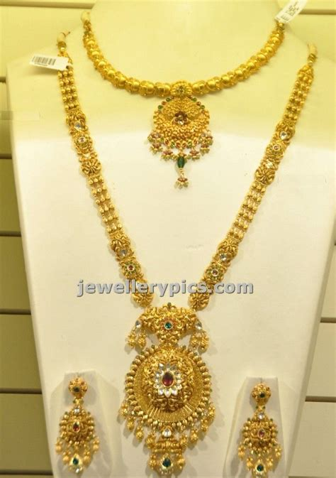 check malabar gold jewellery gold haram and necklace bridal design as part of their