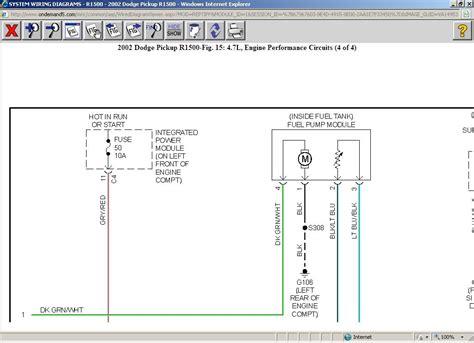 1999 dodge ram 1500 fuel wiring wiring diagram