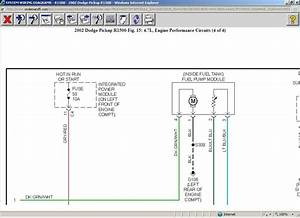 94 Dodge Dakota Fuel Pump Wiring Diagram