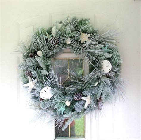 coastal door wreaths shell wreath coastal door wreath sand dollars
