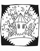 Haunted Coloring Pages Halloween Castle Mansion Spooky Printable Printables Ghosts Drawing Sheets Strange Printactivities Popular Coloringhome Hounted Mansions Getcoloringpages Getdrawings sketch template