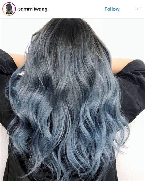 Beautiful Hair Dyed Hair Blue Ombre Hair