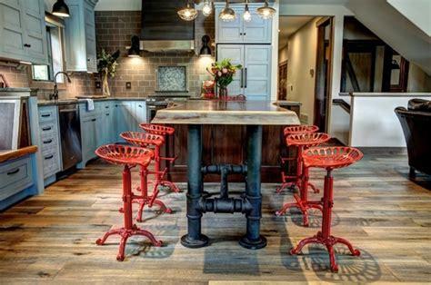 table cuisine industrielle cuisine industrielle l 39 élégance brute en 82 photos