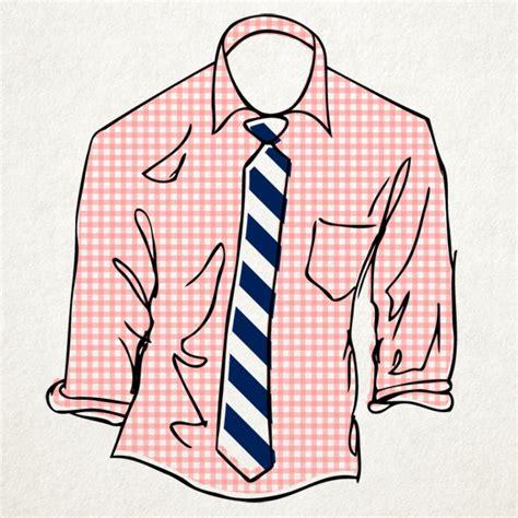 menswear cheat sheet   pair shirts  ties style