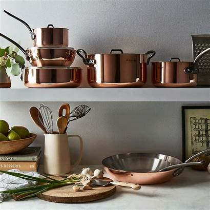 Buyer Copper Pan Conical Food52 Saute Inch