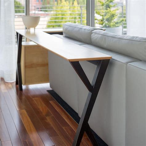 Easy Diy Console Table Behind Couch