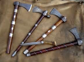 Custom Knives Tomahawks
