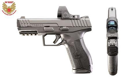 editors choice award iwi masada mm pistol  target magazine