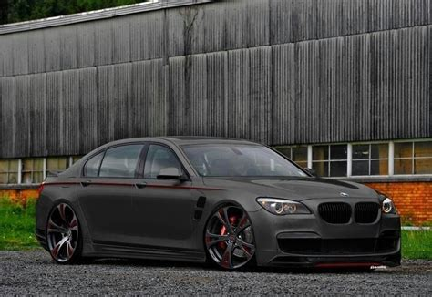 Slammed And Blacked Out Bmw