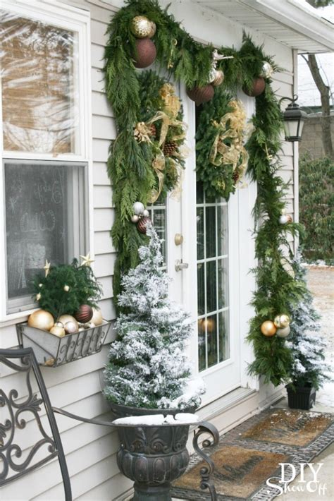 decorating french doors  christmas part  diy show