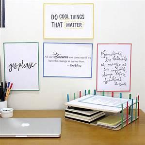 DIY Desk Organizer Idea The Craftables