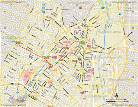 Downtown Los Angeles Jewelry District Map