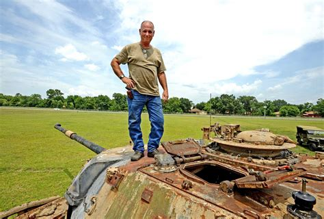 beaumont man takes military machine restoration beaumont enterprise