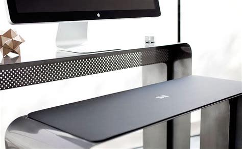 bureau pour imac onelessdesk bureau ultra fin en métal