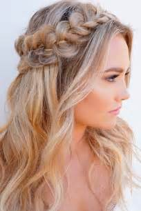 Half Up Half Down Prom Hairstyles for Long Hair