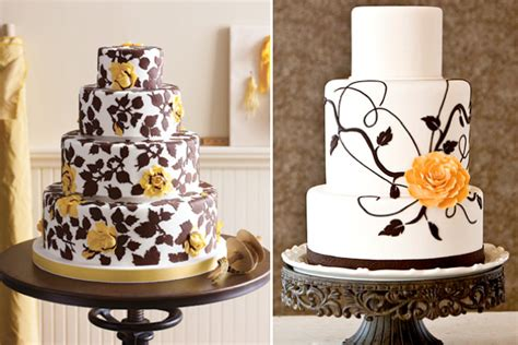 Black And White Wedding Cake Ideas