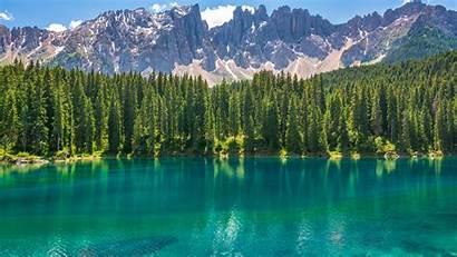 Lake Karersee 5k Mountains Wallpapers