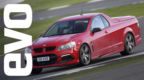 vauxhall vxr8 ute vauxhall maloo vxr8 lsa review tiff needell drives the