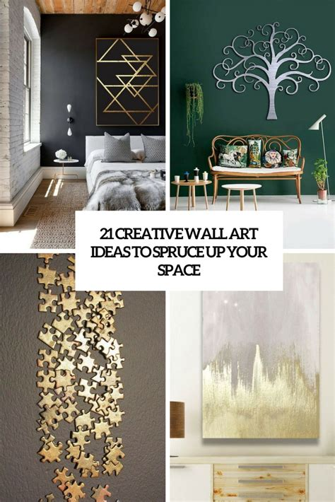creative wall art ideas  spruce   space