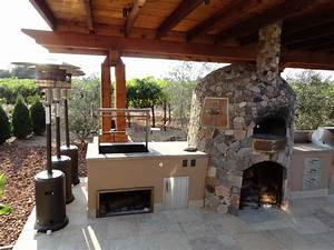 outdoor kitchen designs with pizza oven peenmediacom With outdoor kitchen pizza oven design