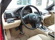 Purchase used 2002 BMW 325ci Electric RedSand Interior