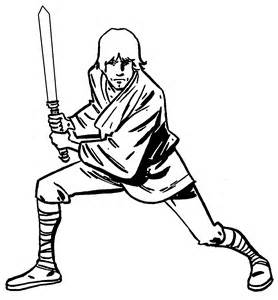 Star Wars Luke Skywalker Coloring Pages