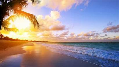 Sunrise Tropical Wallpapers Sea Sky Ocean Clipart
