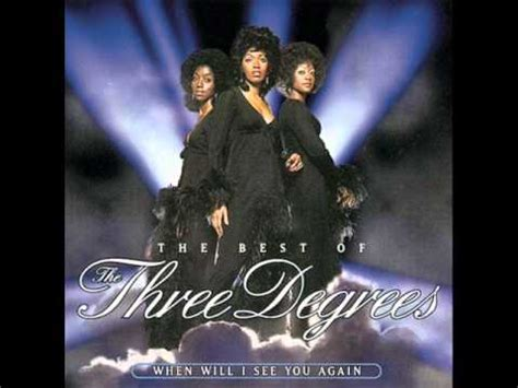 When Will I See You Again  Three Degrees Youtube