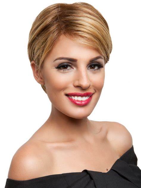 short hairstyles  long faces olixe style