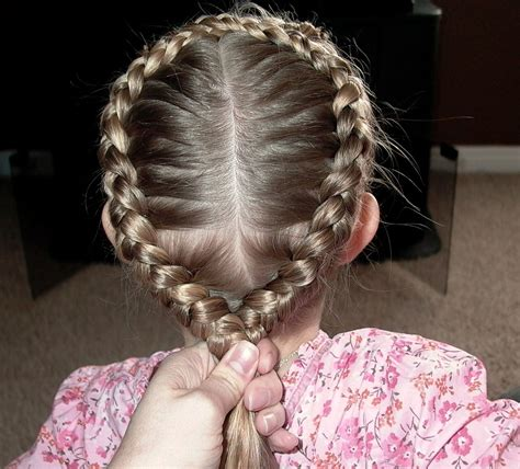The waxwing has quite beautiful exquisite hairdo, and sun shines and winter shows it`s best. Little Girl's EASTER Hairstyle - Figure 8 French Braid 20 ...