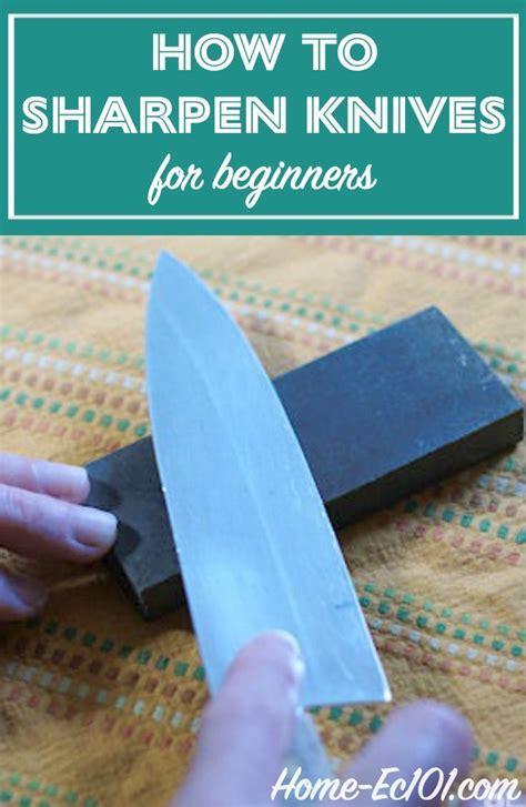 knife sharpening kitchen sharpen knives equipment tutorial beginner ec101 pocket sharp making cooking tools feedblitz feeds