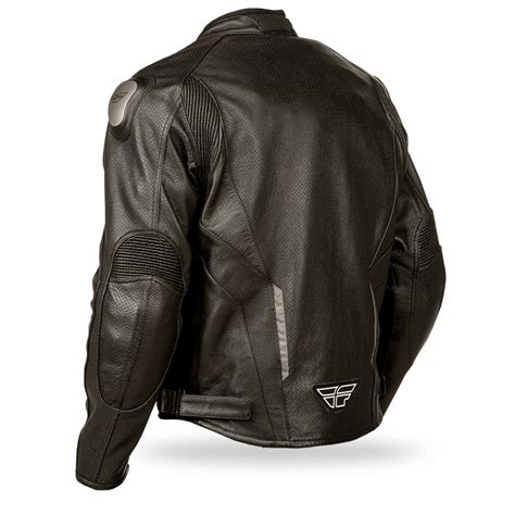 riding jackets fly street apex leather motorcycle riding jacket black