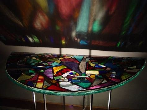 stained glass table ls 17 best images about stained glass tables on pinterest