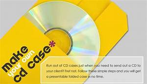 homework make your own cd case With create your own cd cover
