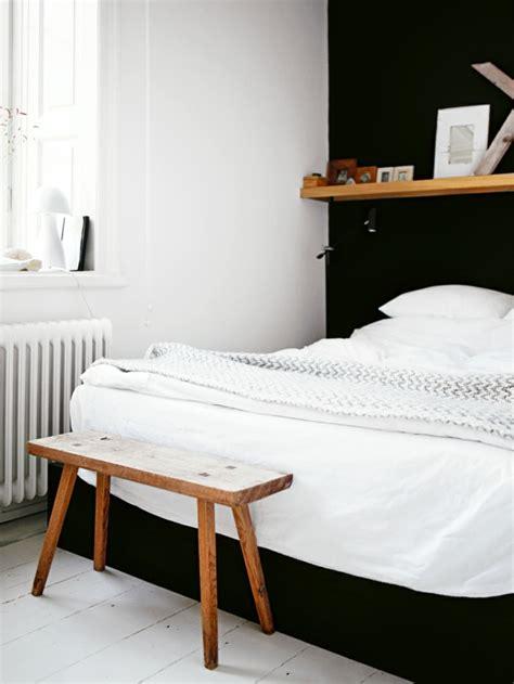 Schlafzimmer Schwarze Wände by Schlafzimmer Schwarz Wei 223 44 Einrichtungsideen Mit