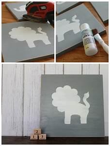 Nursery animal wall art lolly jane