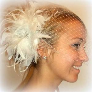 Wedding Feather Bridal Hair Fascinator And Bandeau French