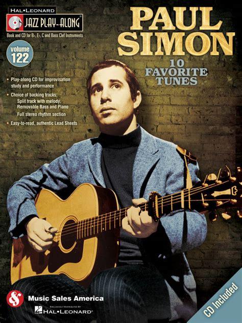 sales paul simon jazz play  volume  book