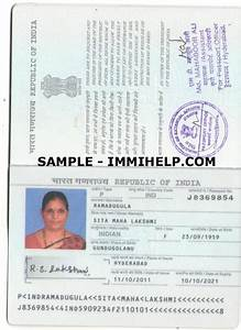 sample indian passport With documents for passport india