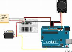 Controlling Servo Angle Using Joystick In Arduino Ide